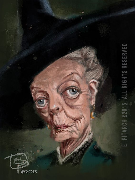 Maggie Smith. E. Pitarch © 2015. All rights reserved.