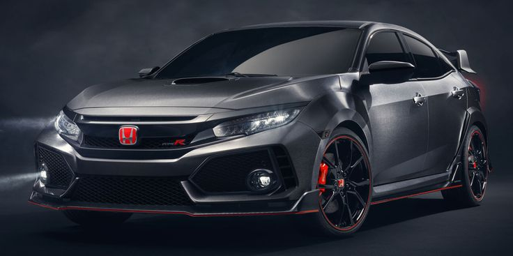 Here's the Civic Type R That's Coming to America in 2017