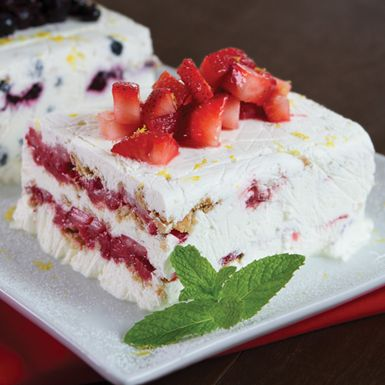 "User-added image  ~~Florida Strawberry Icebox Pie. From The ""Follow the Fresh,"" Florida Fresh Website~~"