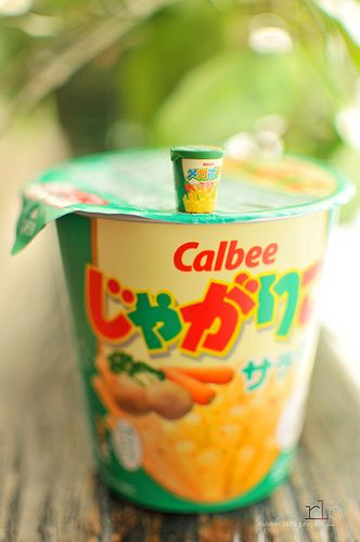 Megahouse Calbee Potato Snack BIG & small | Flickr - Photo Sharing!