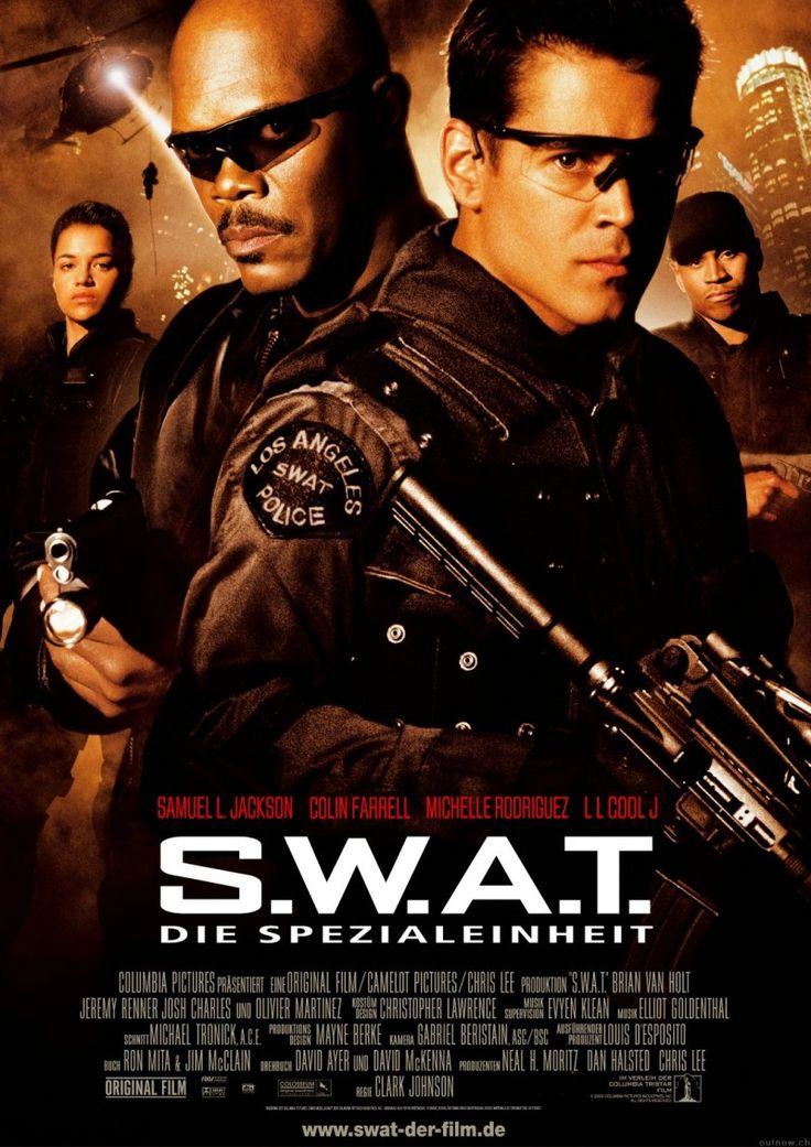 女優ミシェル・ロドリゲスが出演した映画「S.W.A.T」のポスター