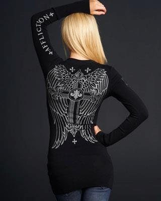 Affliction...<3 this but can never find one in stores!