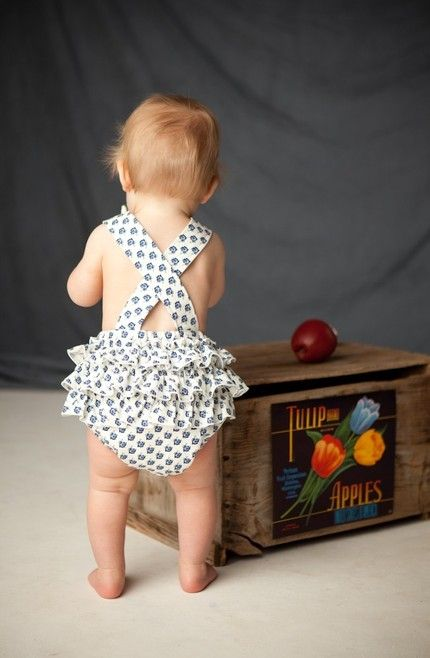 Little Romper / The Measure #Fashion #Baby #Cute