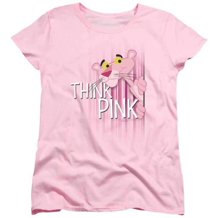 Pink Panther: Think Pink Women's T-Shirt