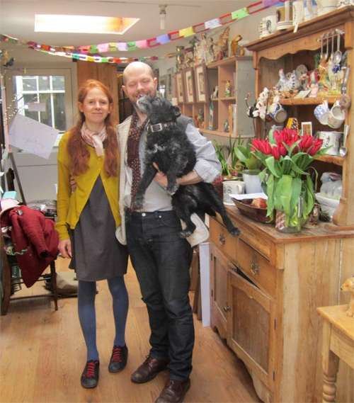 Emily Sutton & Mark Hearld at their home and studios in York