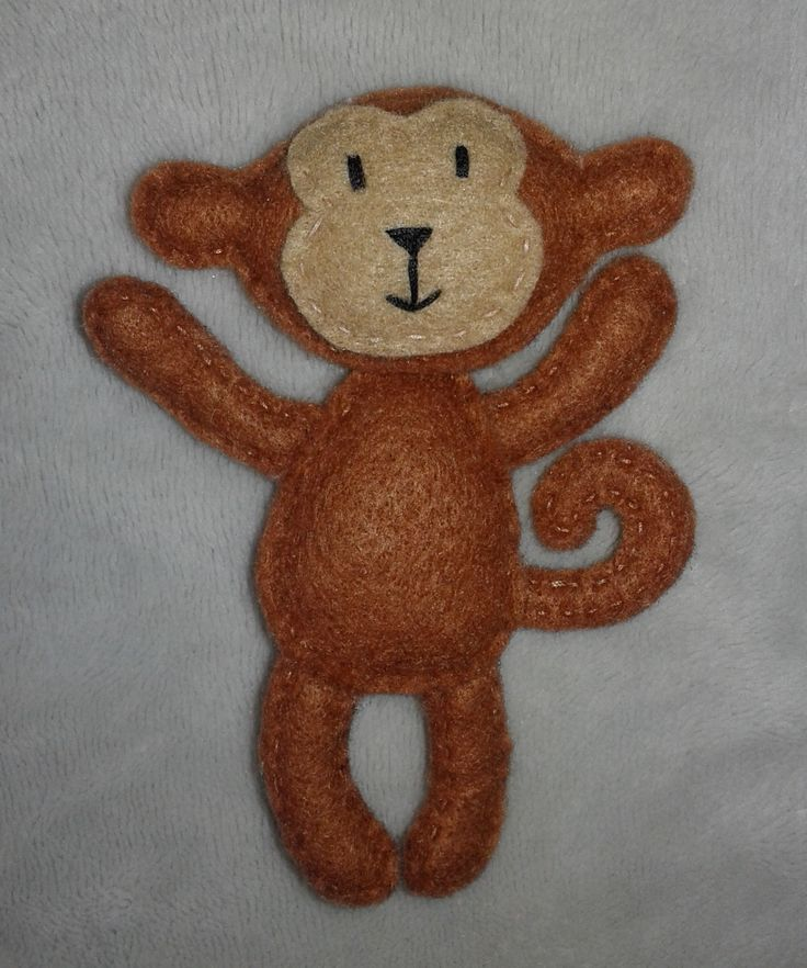 Małpa filc