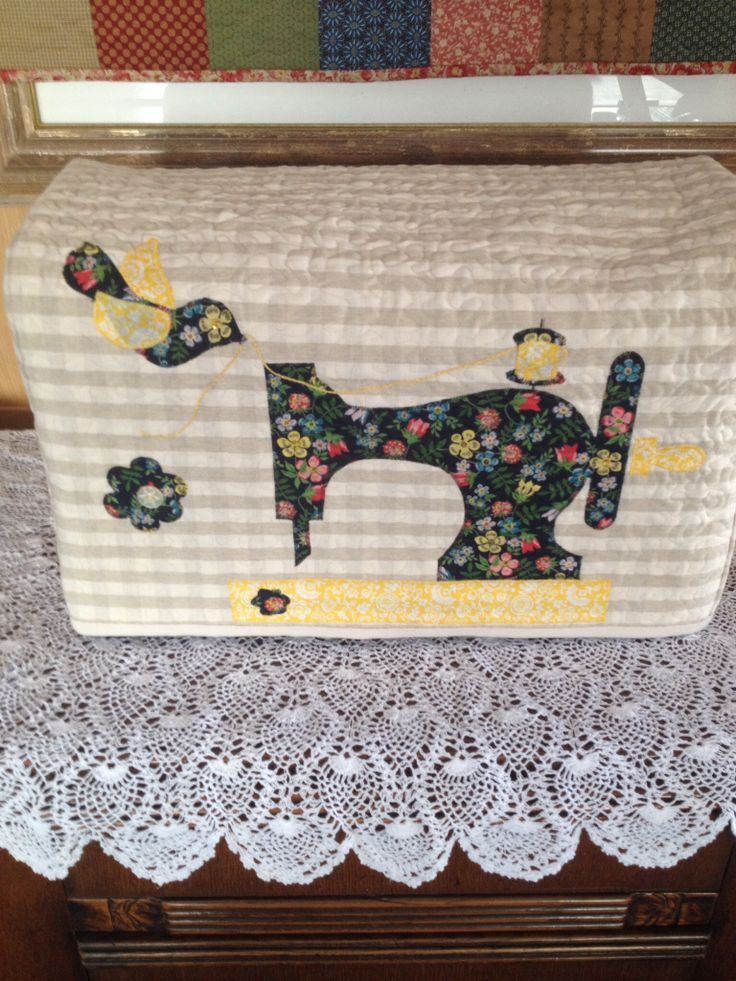 My Sewing machine cover (Stephs Workshop)