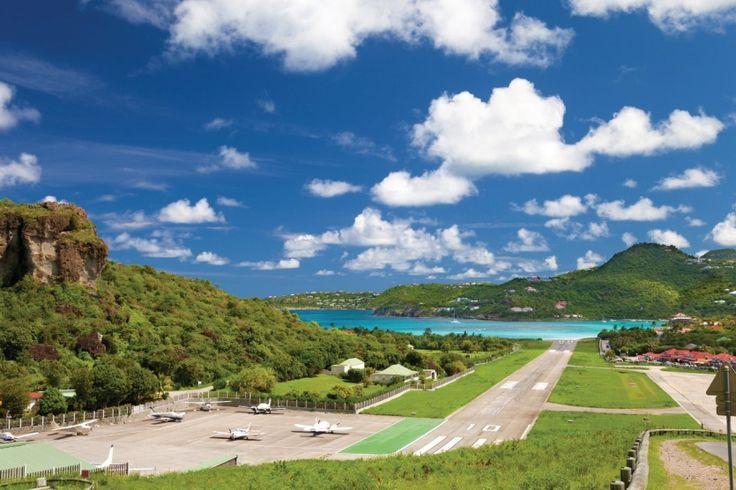 Top 10 des aéroports les plus spectaculaires du monde : Magazine Saint-Barthélemy st-martin isle