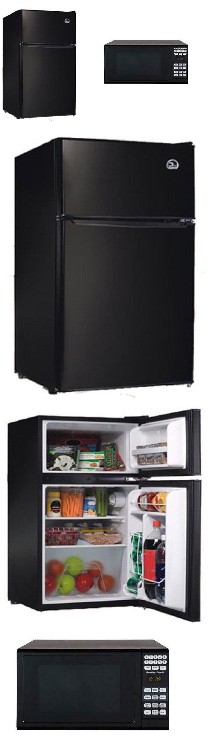 Mini Fridges 71262: Refrigerator Mini Fridge Microwave Combo Freezer Black Dorm Office Drink Cooler -> BUY IT NOW ONLY: $247.89 on eBay!