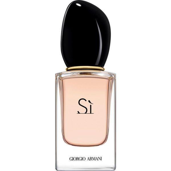 Giorgio Armani Si Eau De Parfum ($70) ❤ liked on Polyvore featuring beauty products, fragrance, giorgio armani, floral perfumes, eau de perfume, edp perfume and giorgio armani perfume