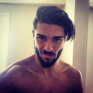 Hello! This sexy and confident early riser. | 27 Men's Undercuts That Will Awaken You Sexually