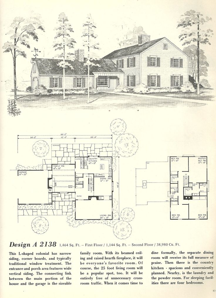 Find This Pin And More On Vintage House Plans