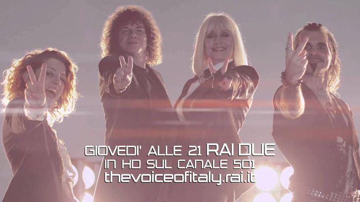 The Voice of Italy con Carrà Cocciante Noemi Pelù.  Regia: Gaetano Morbioli Produzione: Run Multimedia