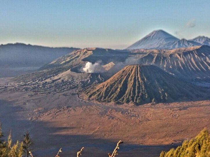 Sunrise hike to view mount Bromo, Indonesia