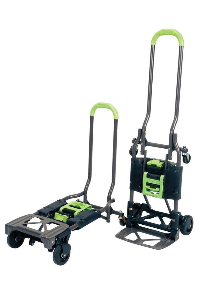 09712ae969ec Appliance Hand Truck Portable Folding Cart Convertible Dolly Hauling ...