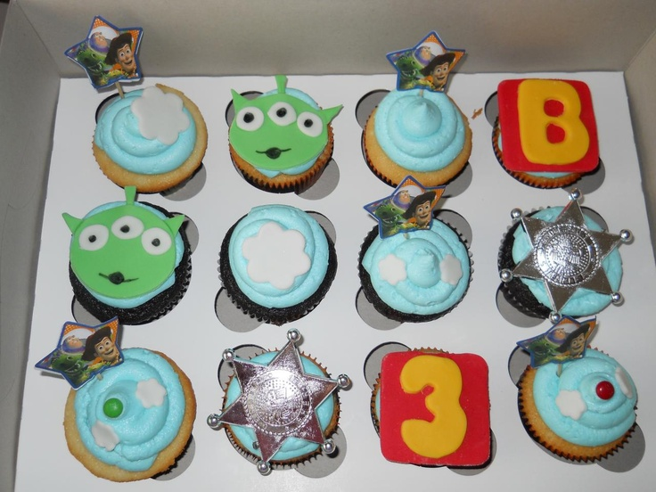 Hey! the Toy Story 3 Cupcakes