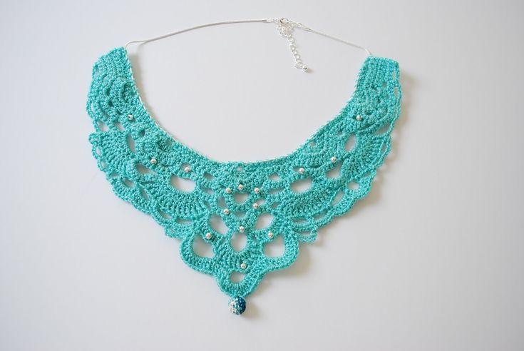 crochet necklace - Cerca con Google