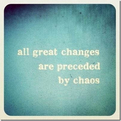 all great changes are preceded by chaos.  I calm the chaos by planning.  check out my meal and training plan for the week.