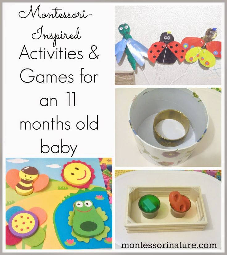 Montessori Inspired Games and Activities for an 11 months old baby. | Montessori Nature