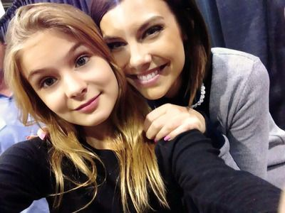 Lauren Cohan & Brighton Sharbino #WalkerStalkerCon