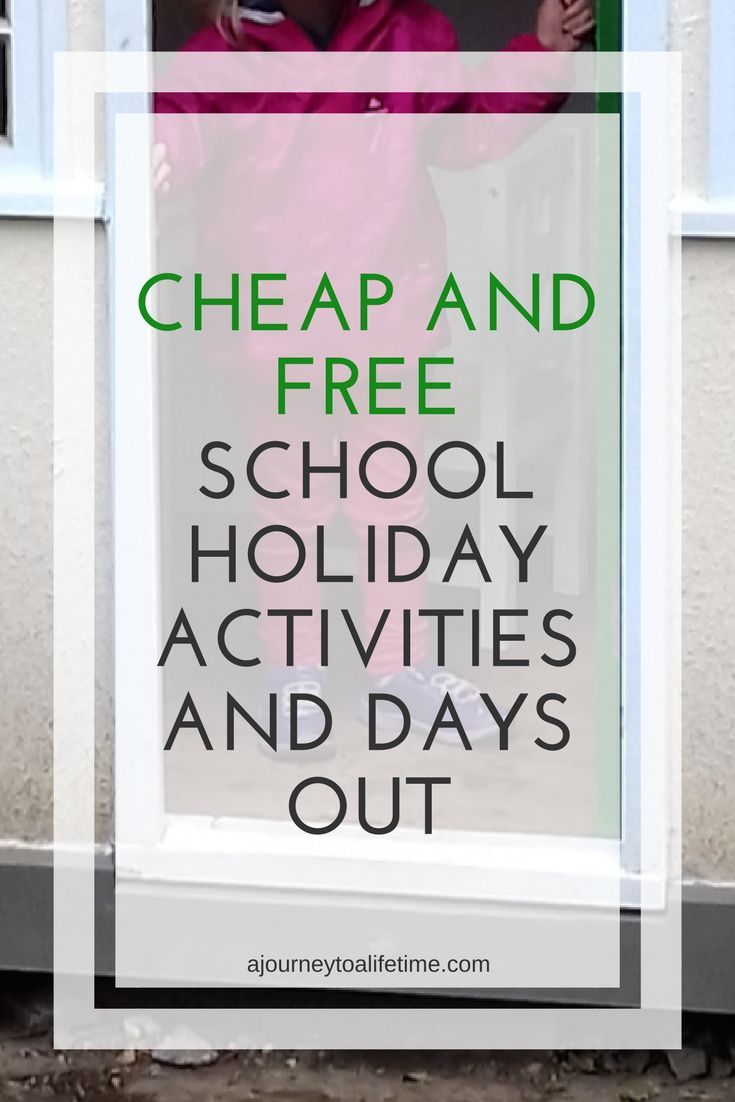 Cheap and free school holiday activities and days out to help save a little money and stick to a budget