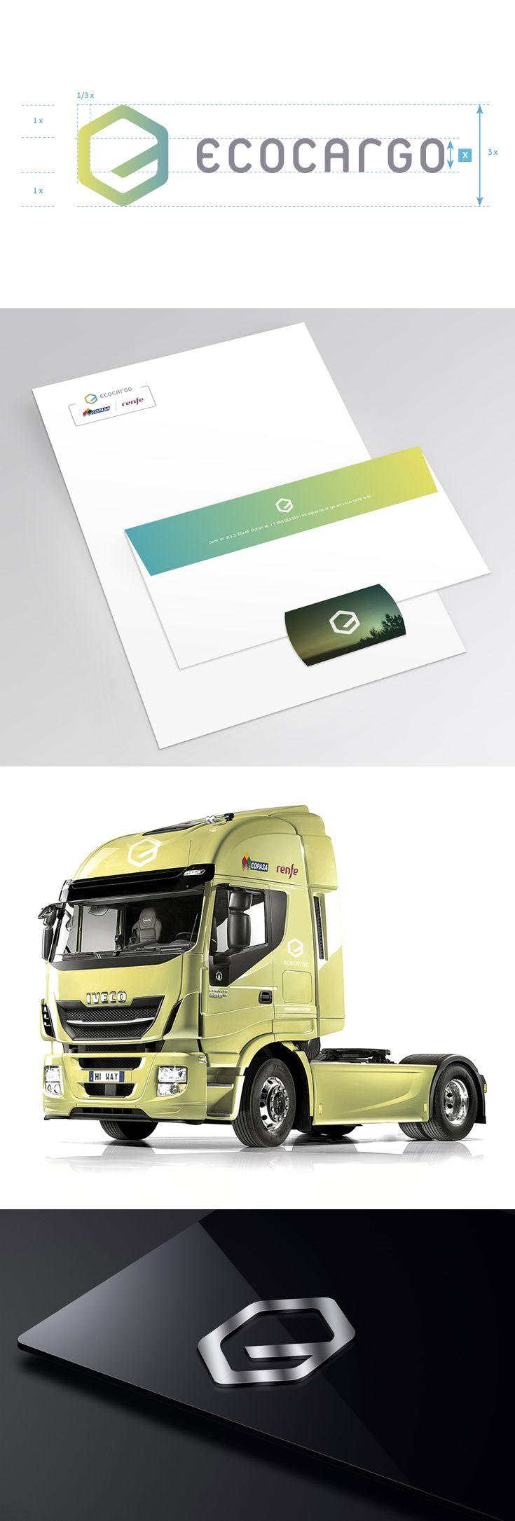 Identidad visual de empresa de transportes