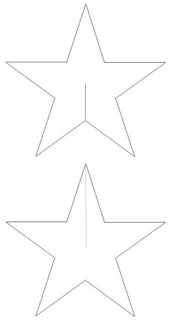 BLOG DA TIA JAQUE: Moldes de estrelas                                                                                                                                                                                 Mais