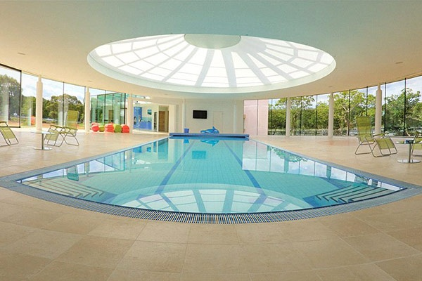 Spectacular swimming pool awesome idea for inside the for Giant swimming pool
