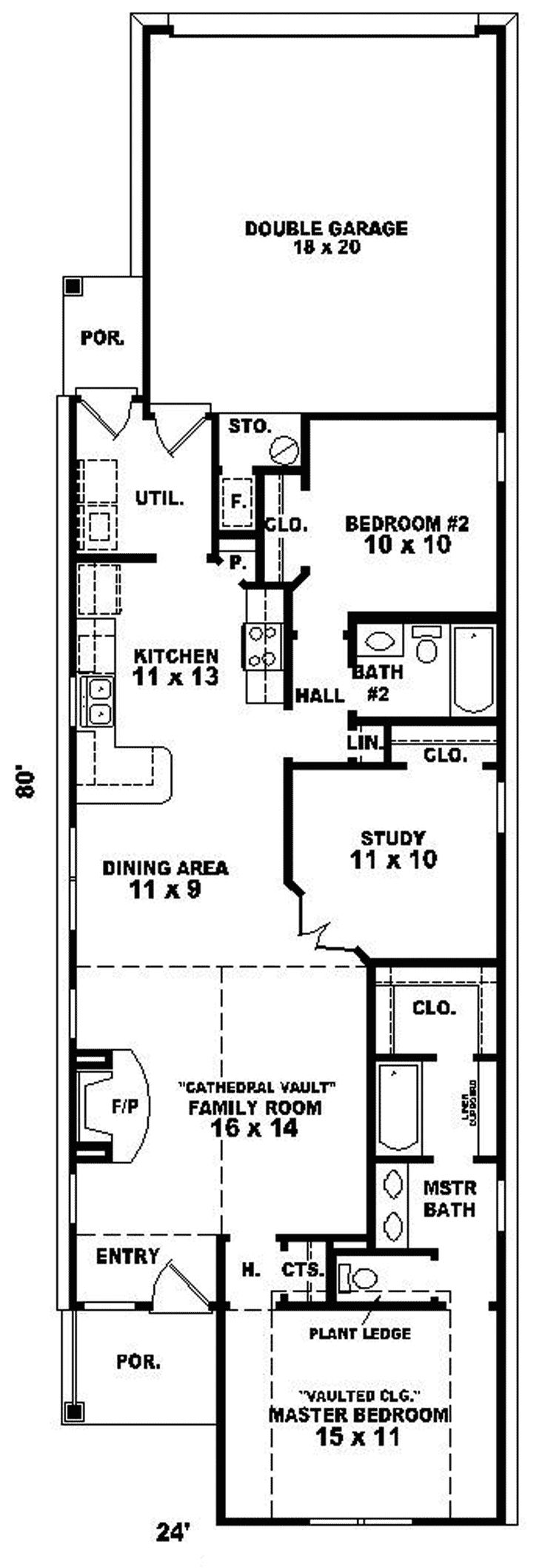 60 best ranch floor plans that i love images on pinterest ranch narrow ranch house plan first floor 087d 0037 house plans and more