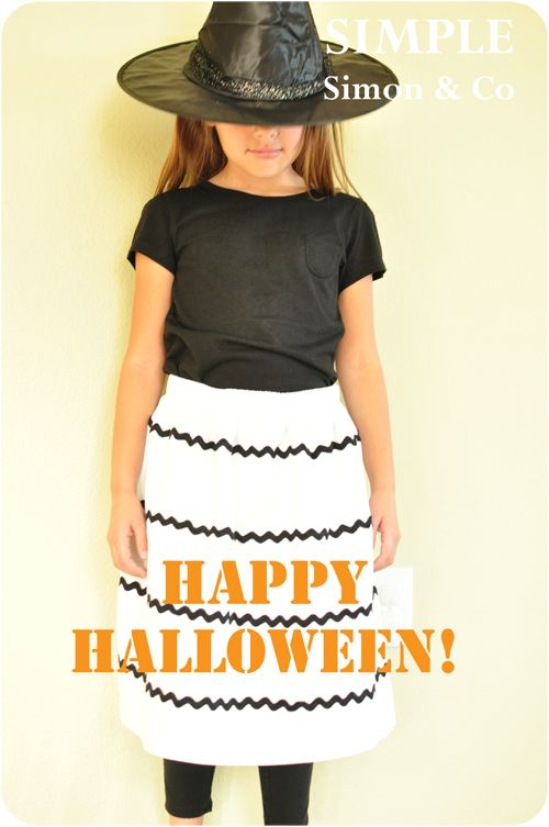 Today I havea tutorial for you for a Halloween skirt. Ok, I will admit, it'snot your typical Halloween skirt. And although I LOVE me some good over-the-top Halloween skirts (and have made quite a few), this year I wantedto make a vintagy-looking skirt that she could wear again and again. So, I came up with...Read More »