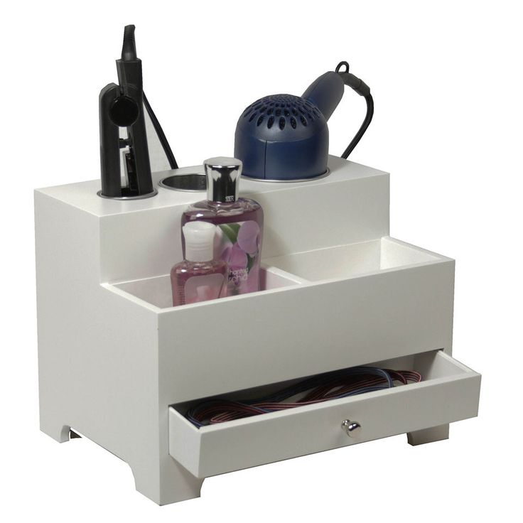 Small Vanity Organizer for Hair Tools and More - Beyond the Rack. $39.99