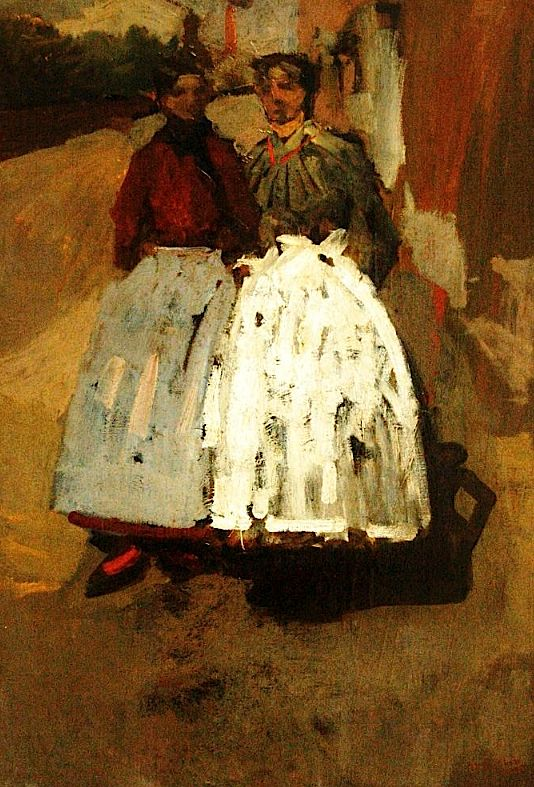 Georges Hendrik Breitner - Two Factory Girls