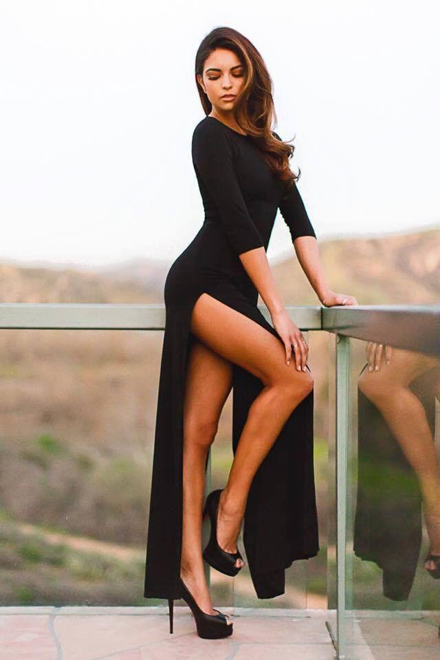 92442632c8 Beware of the Scorpio Woman.  longlegs  legs  heels  hair  sexy  babe