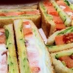 カトレア - 野菜サンドアップ