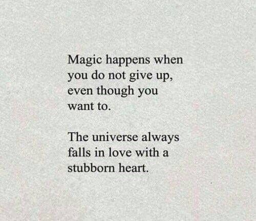 Magic happens.
