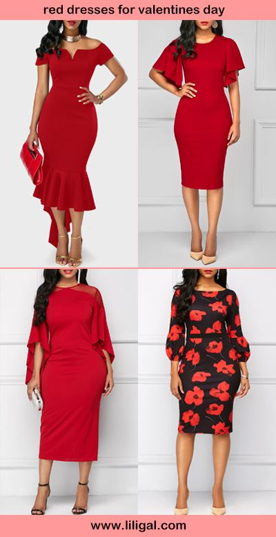 Red Dresses For Valentines Day Valentines Day Outfit Ideas Dresses