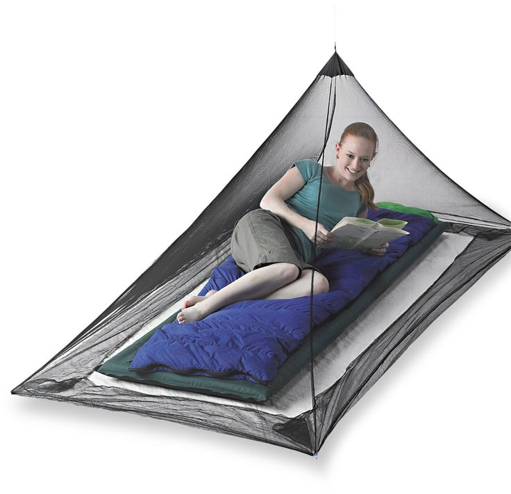 Sea to Summit Nano Mosquito Pyramid Insect Shield Net Shelter - REI.com - considering my allergic reactions to mosquito bites... and the fact i'm going to SE Asia.. I will get one just in case