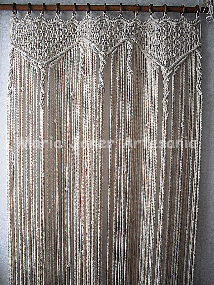 how to make macrame curtains 36 best images about macrame curtains on 7206