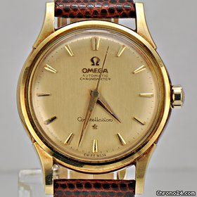 Omega Constellation / Vintage / Circa 1961  / 18k Yellow Gold