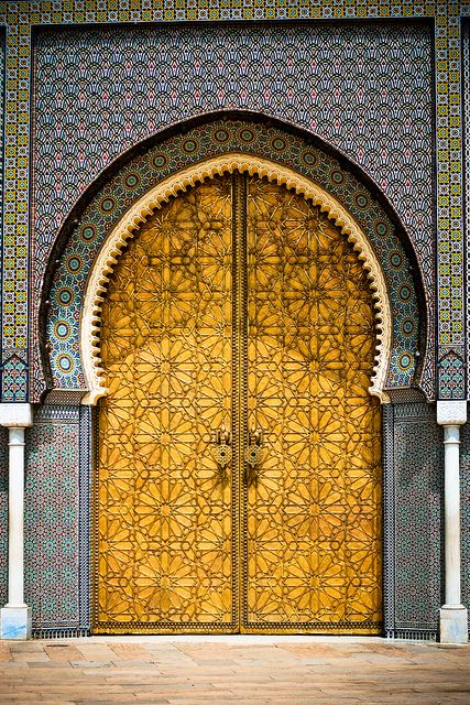 i love how intricate this door is. absolutely gorgeous