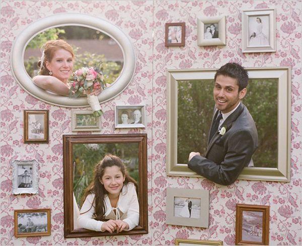 14 -Impresionantes y únicas fotos telones de fondo de la cabina del banquete de boda - Wedding Party