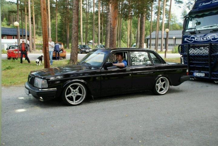 Volvo 244 | Slammed Volvo | Pinterest | Volvo