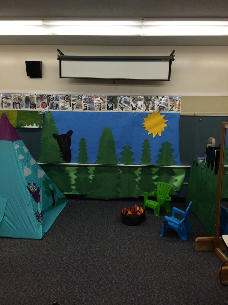 Classroom Theme Ideas Elementary ~ Mrs campbell s classroom camping theme