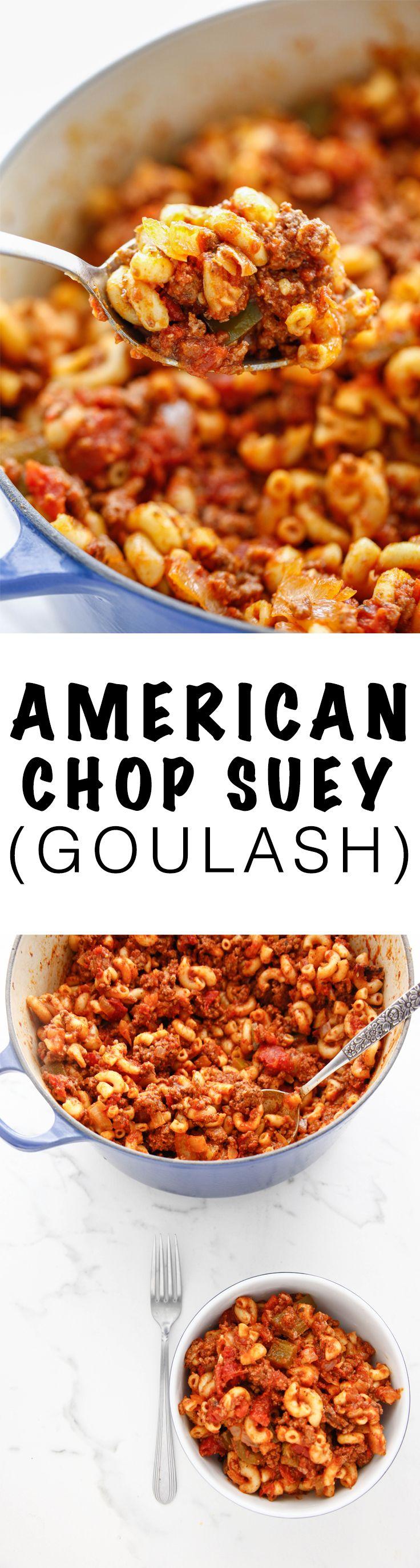 American Chop Suey aka Goulash from @thebrooklyncook via @thebrooklyncook