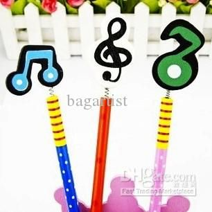 Wholesale Pens & Pencils - Buy Wonderful Dazing Cartoon Musical Style Charm PENCIL Pencils Exclusive Fashionable Lovely Pencils!, $0.37 | DHgate