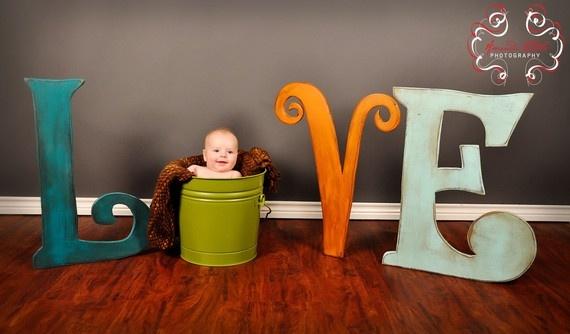Baby Photo Prop Any three 24 inch tall by sERINasCustomShop, $90.00