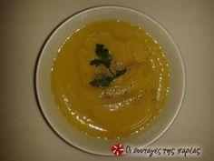Ελαφριά σούπα φτιαγμένη με σελινόριζα, κολοκύθια και καρότα. Ιδανική για δίαιτες αδυνατίσματος, καθώς μπορεί να αντικαταστήσει οποιαδήποτε σαλάτα ή να αποτελέσει ένα ελαφρύ γεύμα κατά την διάρκεια της ημέρας, με λιγότερες από 100 θερμίδες ανά πιάτο.