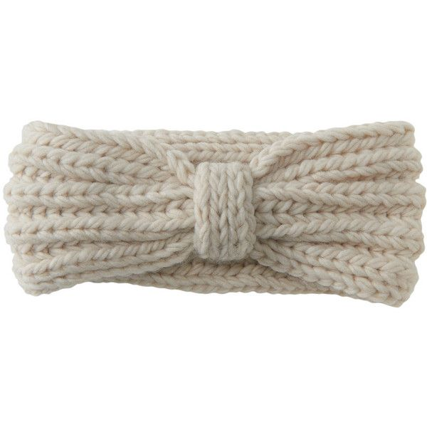 Aeropostale Cabled Headband ($5) ❤ liked on Polyvore featuring accessories, hair accessories, oatmeal heather, headband hair accessories, hair bands accessories, hair band headband, head wrap headband and thick headbands