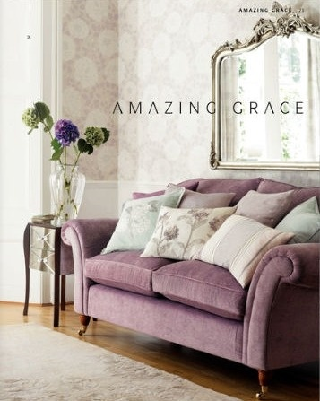 Love the couch and the big mirror!!! gorgeous