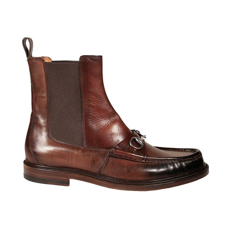 Gucci Shoes | Gucci Men's Shoes Horsebit Moccasin Brown Boots (GGM3000)